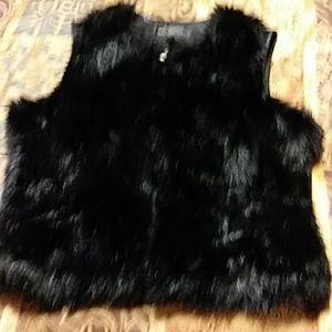 Donna Salyer's Fabulous Furs 100% FAUX FUR VEST